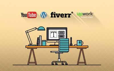 Freelancing with YouTube, WordPress, Upwork & Fiverr - Jerry Banfield