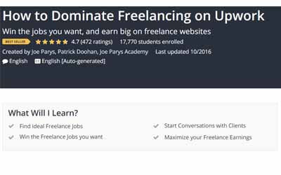 How to Dominate Freelancing on Upwork -  Joe Parys