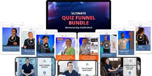 Ultimate Quiz Funnel Bundle - Ryan Levesque