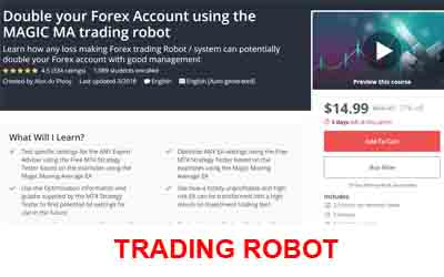 Double your Forex Account using the MAGIC MA trading robot - Alex du Plooy