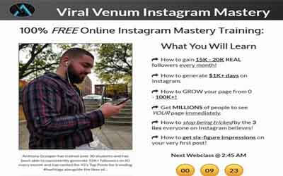 Viral Venum Instagram Mastery Free Download